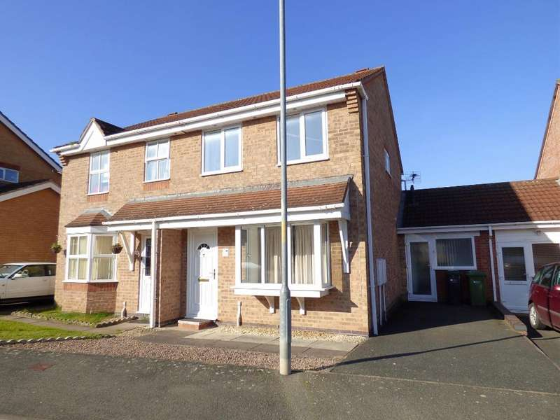 3 Bedrooms Semi Detached House for sale in Dorchester Way, Belmont, Hereford