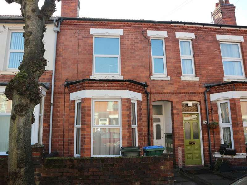5 Bedrooms Terraced House for sale in 51 Hugh Road, Stoke, Coventry, CV3 1AB