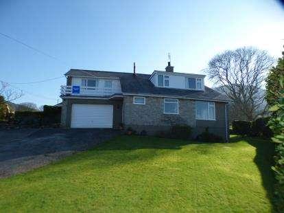 4 Bedrooms Detached House for sale in Y Fron, Nefyn, Pwllheli, Gwynedd, LL53