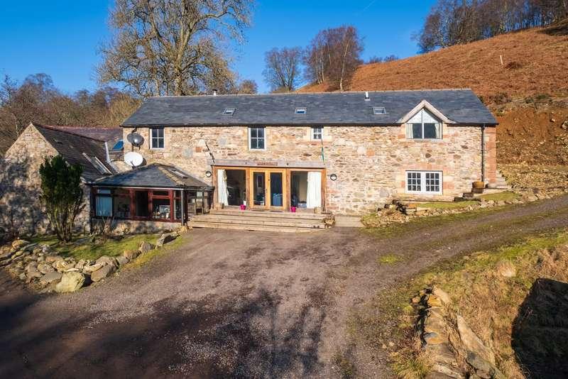 4 Bedrooms Semi Detached House for sale in Mill Of Auldallan, By Balintore, Kirriemuir, Angus, DD8