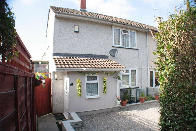 2 Bedrooms End Of Terrace House for sale in Hawkfield Road, Hartcliffe, Bristol, BS13 0LG