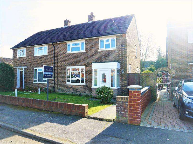 3 Bedrooms Semi Detached House for sale in Blandford Road South, Langley
