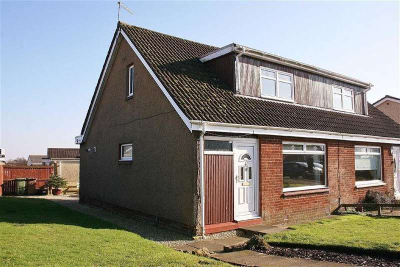 3 Bedrooms Semi Detached House for sale in Leith Place, Denny, Stirlingshire