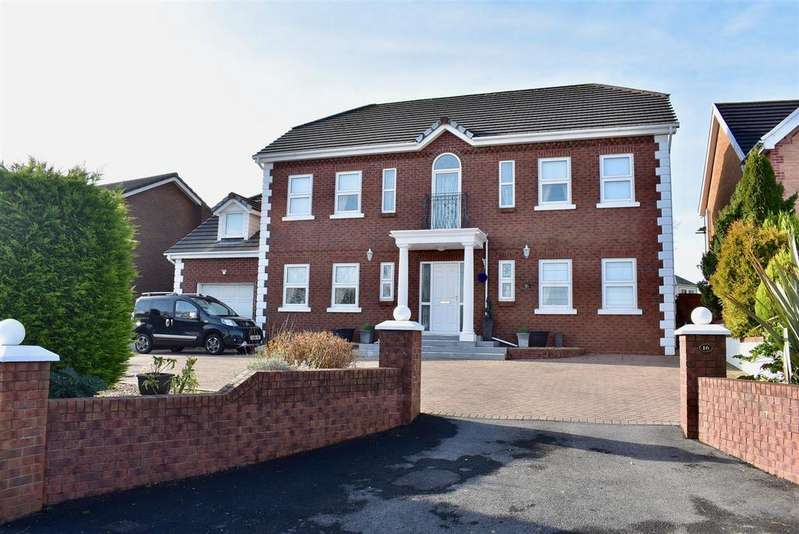 4 Bedrooms House for sale in Black Lion Road, Capel Hendre, Ammanford