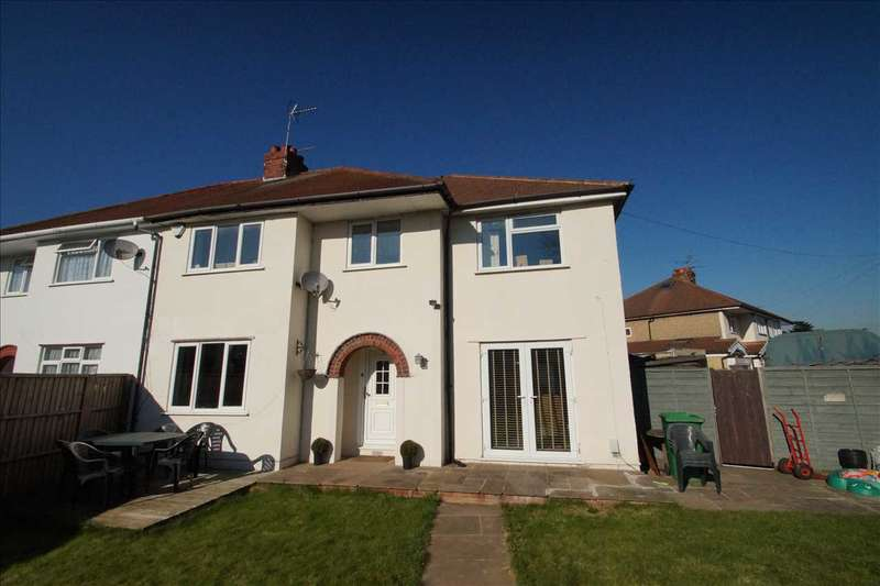4 Bedrooms Semi Detached House for sale in Bowyer Drive, Cippenham