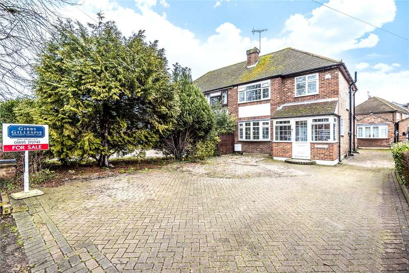 3 Bedrooms Semi Detached House for sale in Colne Avenue, West Drayton, Middlesex, UB7
