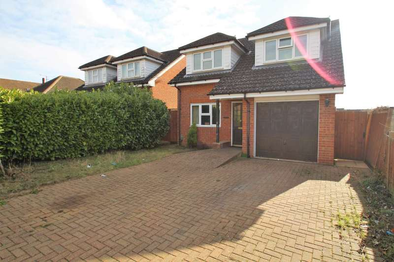 4 Bedrooms Detached House for sale in Sowerby Avenue, Stopsley, Luton