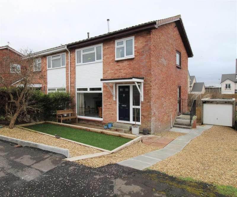 3 Bedrooms Semi Detached House for sale in Holmlea Drive, Kilmarnock, KA1