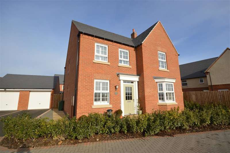 4 Bedrooms Detached House for sale in Wright Close, Whetstone, Leicester, LE8 6QZ