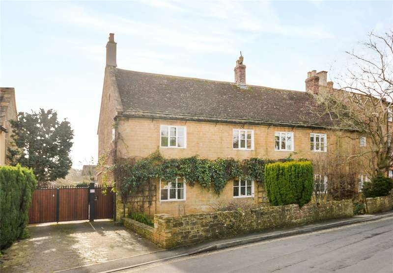 5 Bedrooms Semi Detached House for sale in The Green, Martock, Somerset, TA12