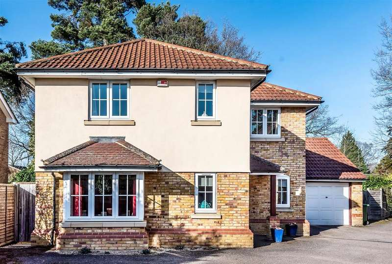 4 Bedrooms Detached House for sale in Barwell Close, Crowthorne, Berkshire RG45 6DX
