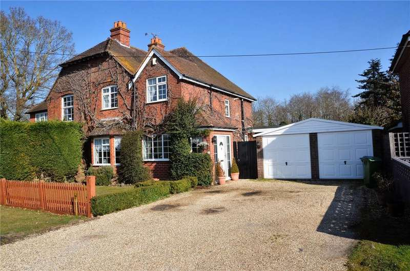 4 Bedrooms Semi Detached House for sale in Wigmore Lane, Theale, Reading, Berkshire, RG7