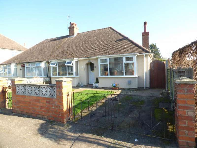 2 Bedrooms Semi Detached Bungalow for sale in Kempston, Bedford, MK42 7RP
