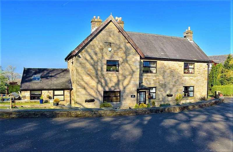 4 Bedrooms Detached House for sale in The Farmhouse, Pickering Fold, Off Rock Lane, Tockholes