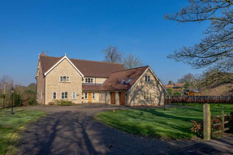 7 Bedrooms Detached House for sale in Stamford House, Church Hill, Spridlington, Market Rasen, LN8