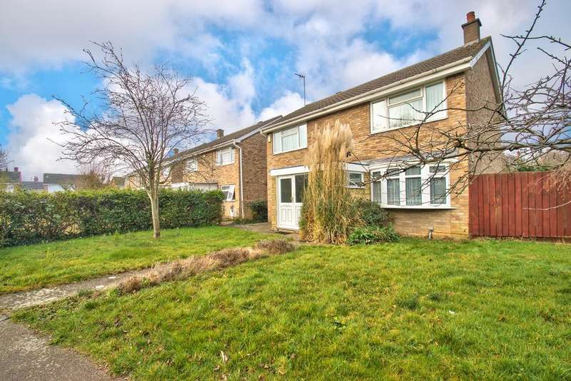 4 Bedrooms Detached House for sale in Thurlestone Close, Bedford, MK40 3AT
