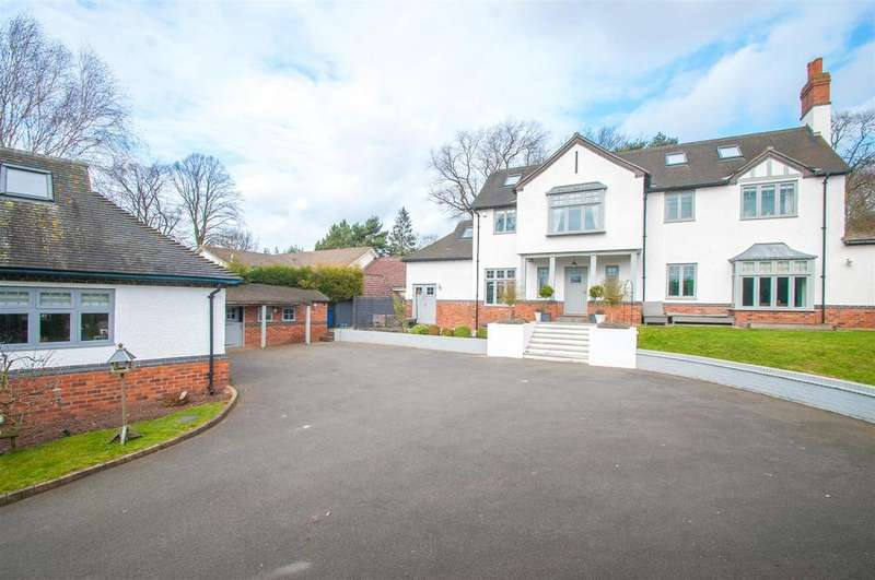6 Bedrooms Detached House for sale in Borrowcop Lane, Lichfield