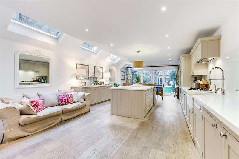 4 Bedrooms Terraced House for sale in Earlsfield Road, London, SW18