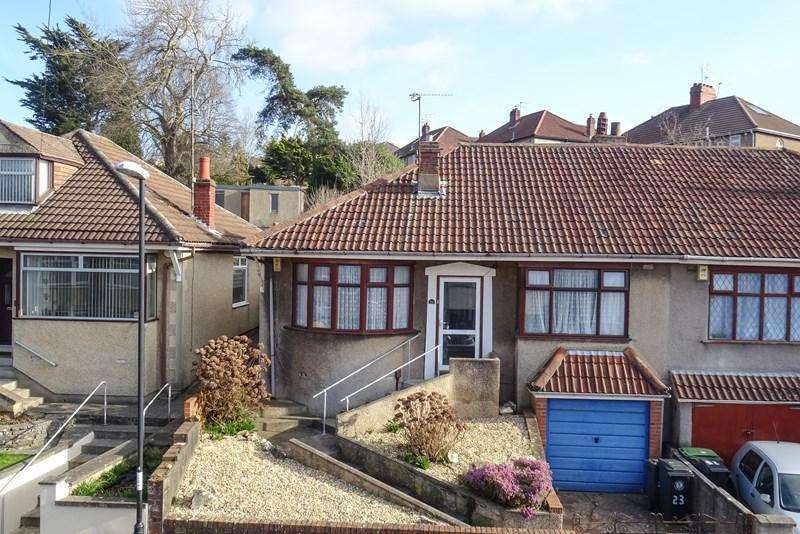 2 Bedrooms Semi Detached Bungalow for sale in Runnymead Avenue, Brislington, Bristol