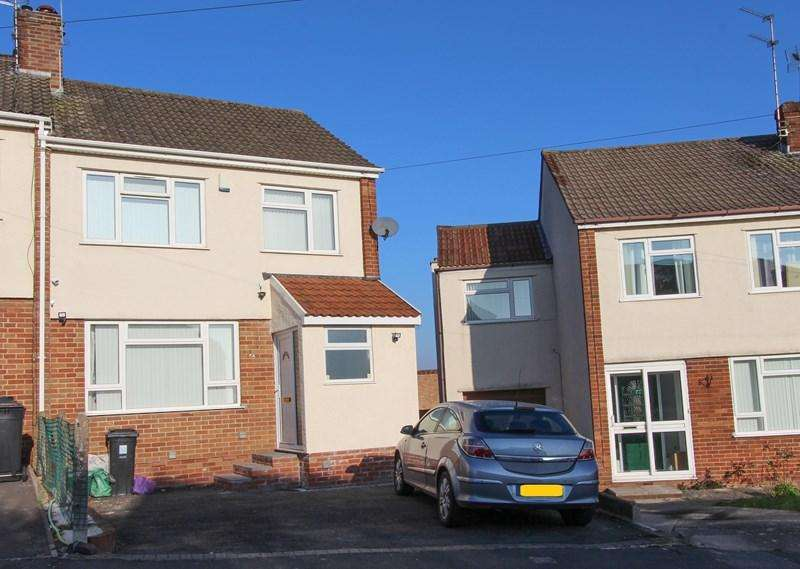 3 Bedrooms End Of Terrace House for sale in Walnut Crescent, Kingswood, Bristol
