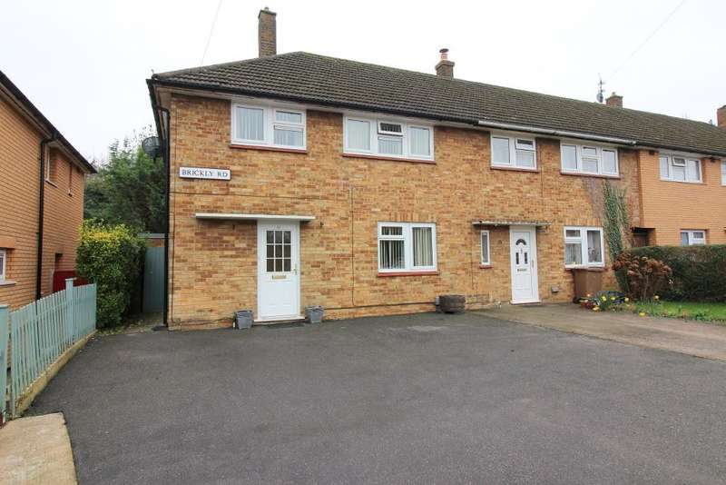 3 Bedrooms End Of Terrace House for sale in Brickly Road, Luton, Bedfordshire, LU4 9EU