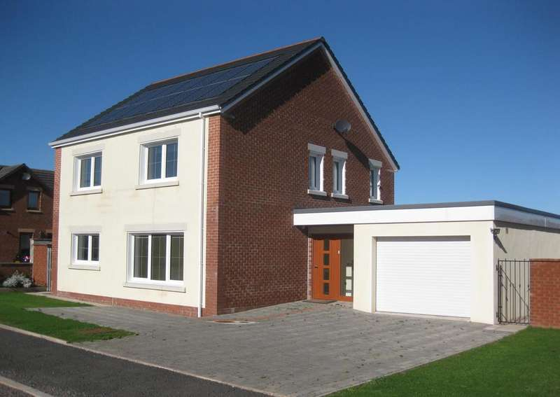 3 Bedrooms Detached House for sale in The Hawthorns, Gretna, DG16
