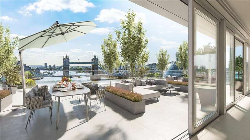 3 Bedrooms Flat for sale in Landmark Place, 16 Lower Thames Street, London, EC3R