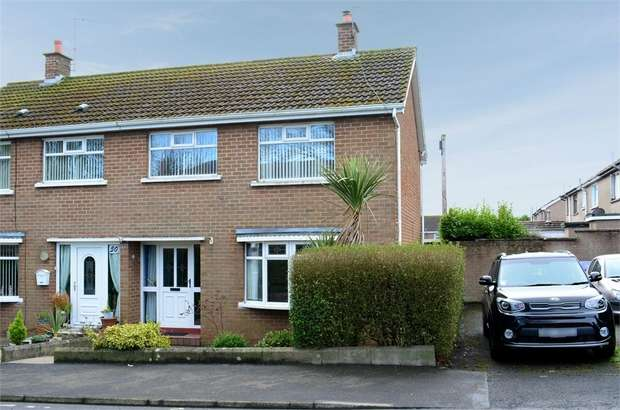 3 Bedrooms Semi Detached House for sale in West Street, Ballycarry, Carrickfergus, County Antrim