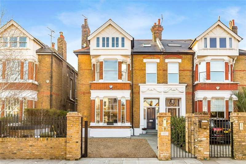 6 Bedrooms Semi Detached House for sale in Castelnau, London, SW13