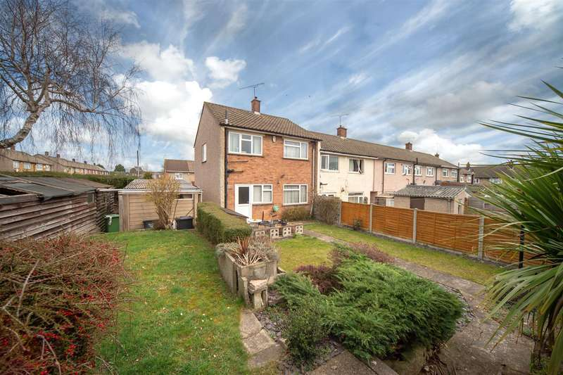 3 Bedrooms End Of Terrace House for sale in Sanfoin Road, Luton, Bedfordshire
