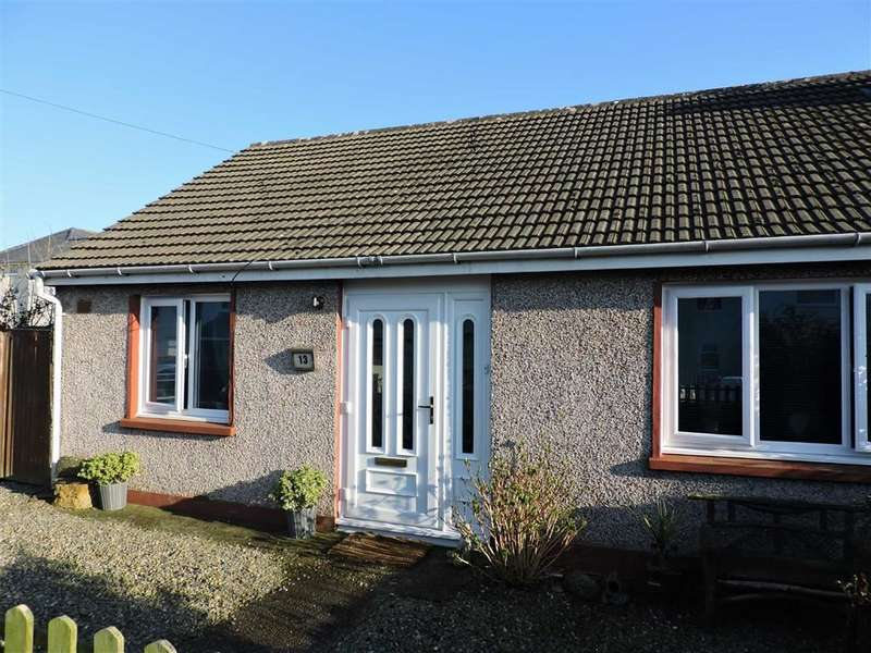 2 Bedrooms Semi Detached Bungalow for sale in Heol Cleddau, Fishguard