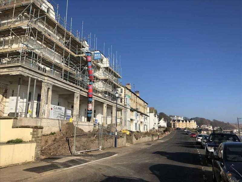 3 Bedrooms Apartment Flat for sale in FIRST FLOOR APARTMENT, ACKWORTH HOUSE, THE BEACH, FILEY