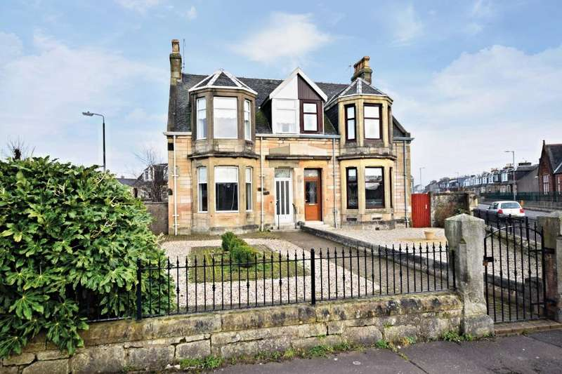 3 Bedrooms Semi-detached Villa House for sale in Argyle Road , Saltcoats , North Ayrshire , KA21 5AQ