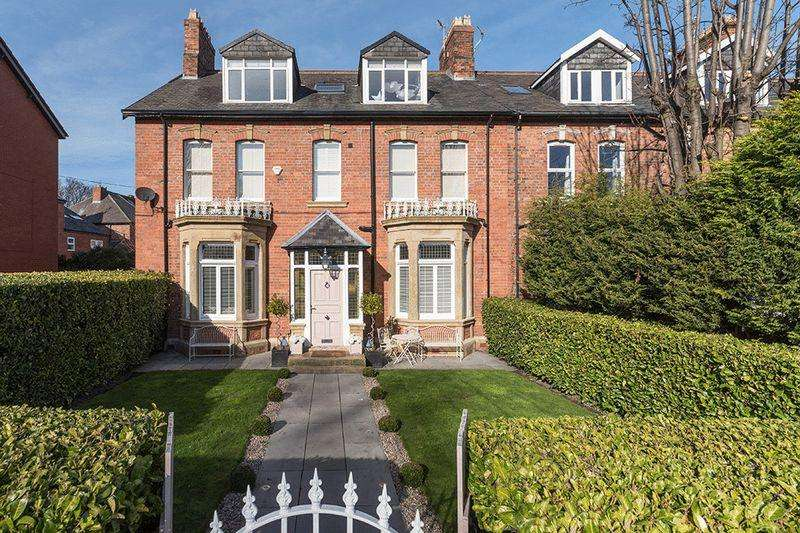 6 Bedrooms Terraced House for sale in 26 Osborne Avenue, Jesmond, Newcastle Upon Tyne