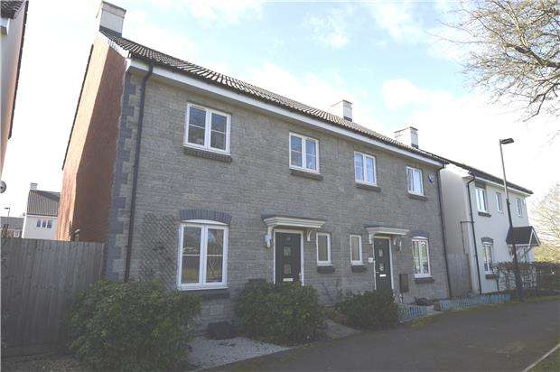 4 Bedrooms Semi Detached House for sale in Oxleigh Way,Stoke Gifford, BS34 8AL