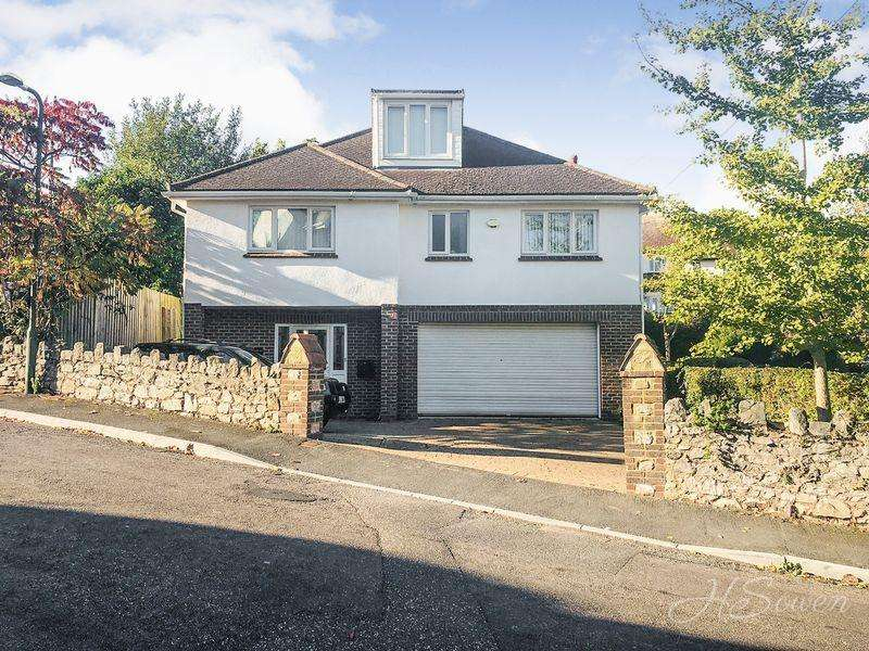 4 Bedrooms Detached House for sale in Clennon Rise, Paignton