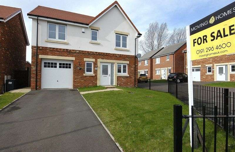 3 Bedrooms Property for sale in Hadrian Wynd, Hadrian Park, Wallsend