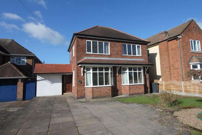 3 Bedrooms Detached House for sale in Ashby Road, Hinckley