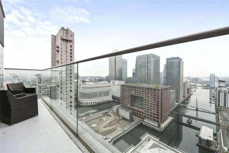 3 Bedrooms Penthouse Flat for sale in Landmark West, 22 Marsh Wall, London, E14