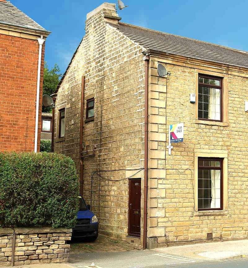 2 Bedrooms Semi Detached House for sale in Huddersfield Road, Oldham