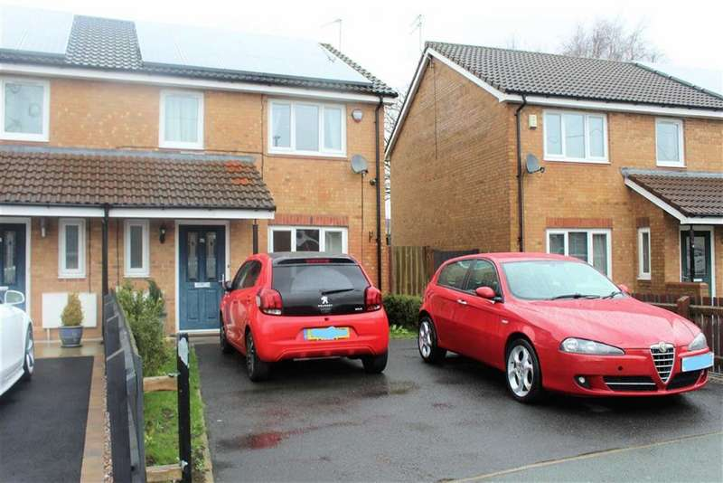 3 Bedrooms Semi Detached House for sale in Deerwood Vale, Hyde