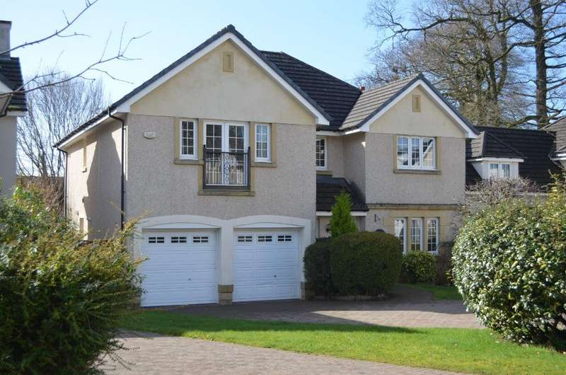 5 Bedrooms Detached House for sale in Fernie Gardens, Cardross, Dumbarton, G82 5QJ