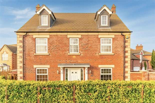 5 Bedrooms Detached House for sale in Delacorte Green, Spalding, Lincolnshire