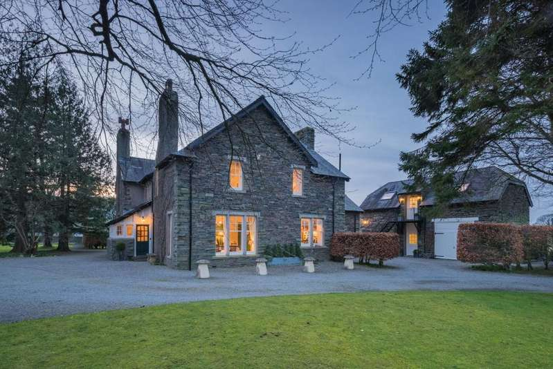 5 Bedrooms Detached House for sale in The Old Vicarage, Lorton, Cockermouth, The Lake District, CA13 9UN