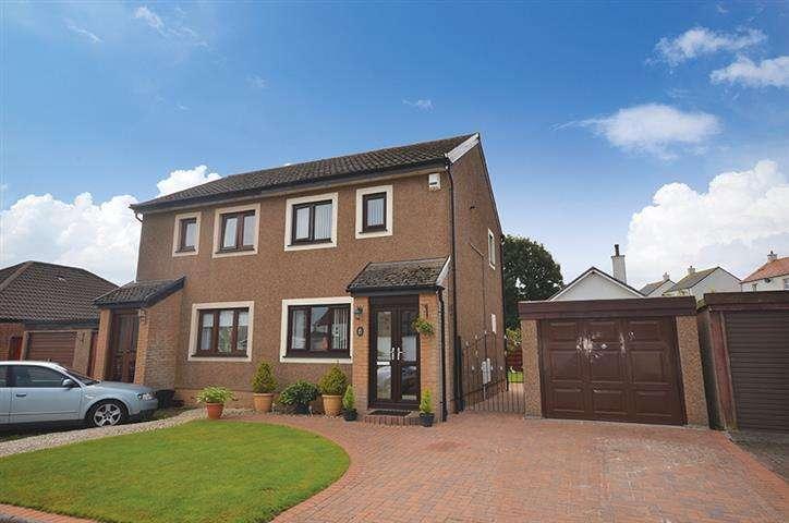 2 Bedrooms Semi-detached Villa House for sale in 57 Abbots Way, Doonfoot, KA7 4JJ