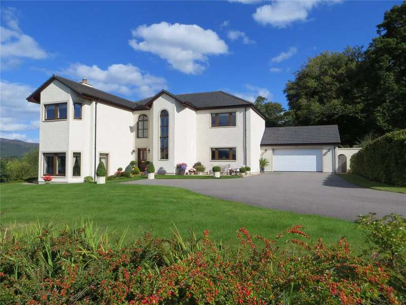 5 Bedrooms Detached House for sale in Loch Ness View, Dores, Inverness