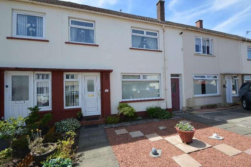 3 Bedrooms Terraced House for sale in Whiteside Terrace, Prestwick, South Ayrshire, KA9 1DU
