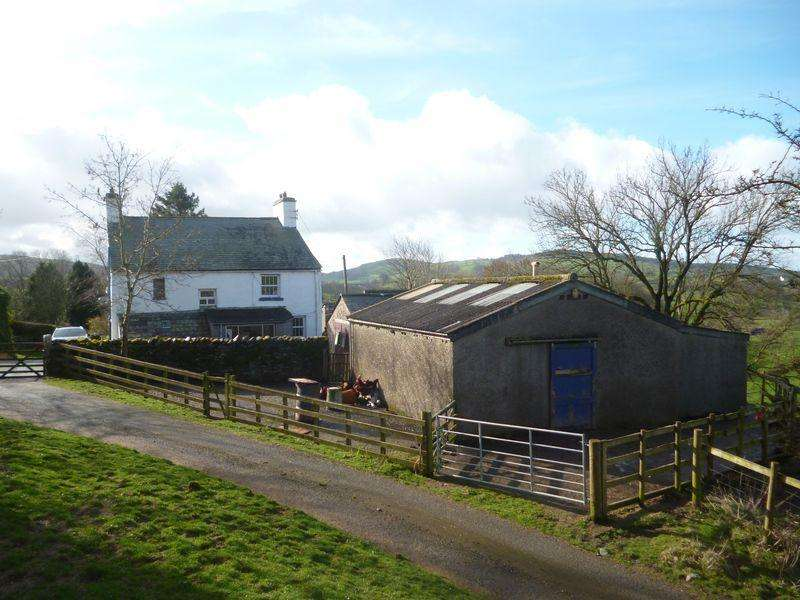 4 Bedrooms Detached House for sale in Ghyll Bank Farm, Grayrigg, Kendal LA8