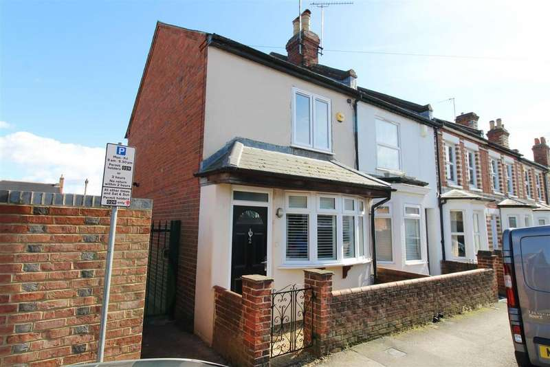2 Bedrooms End Of Terrace House for sale in Coldicutt Street, Caversham, Reading