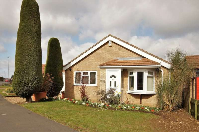 2 Bedrooms Detached Bungalow for sale in Wolsey Way, Lincoln